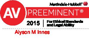 Alyson M Innes AV Rated