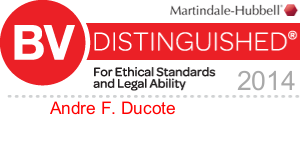 Andre F. Ducote BV Rating