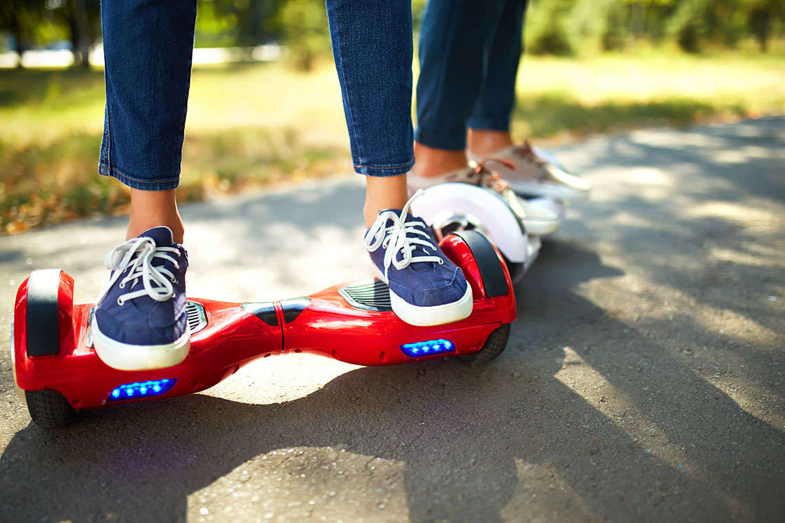 Consumer Alert: Hoverboards Can Cause Serious Injuries or Catch Fire Hero Image