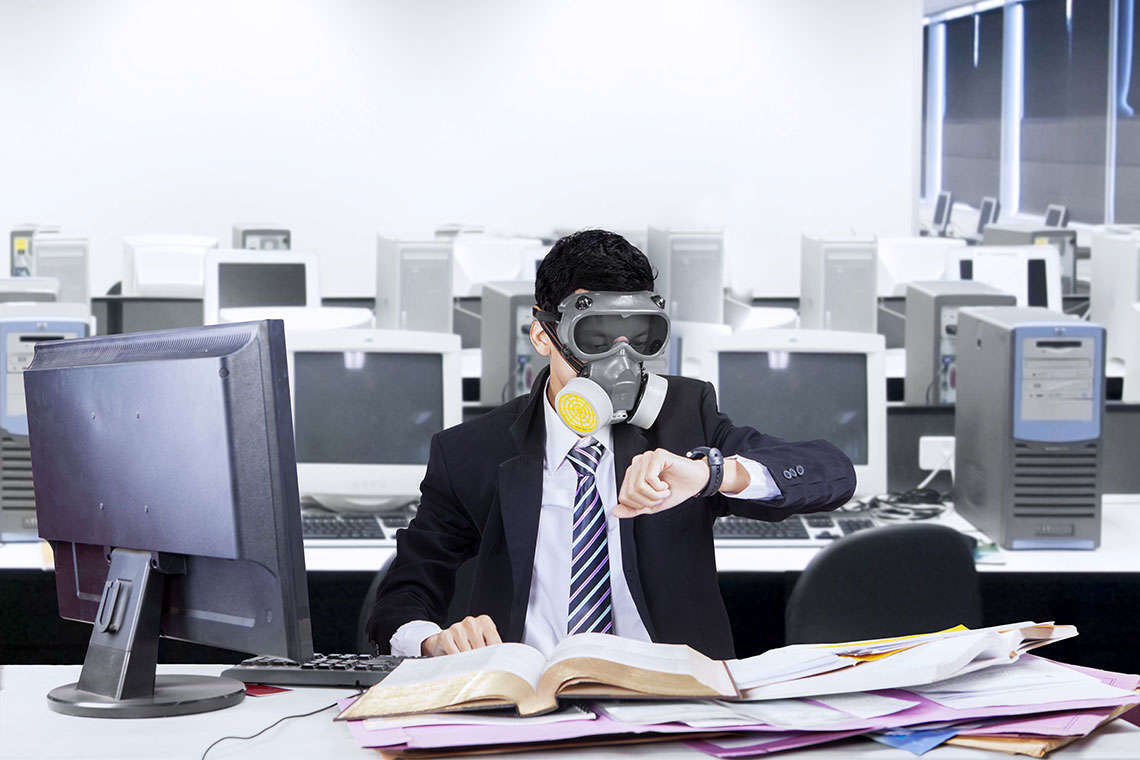 5 Ways Your Office Could Be Making You Sick Hero Image
