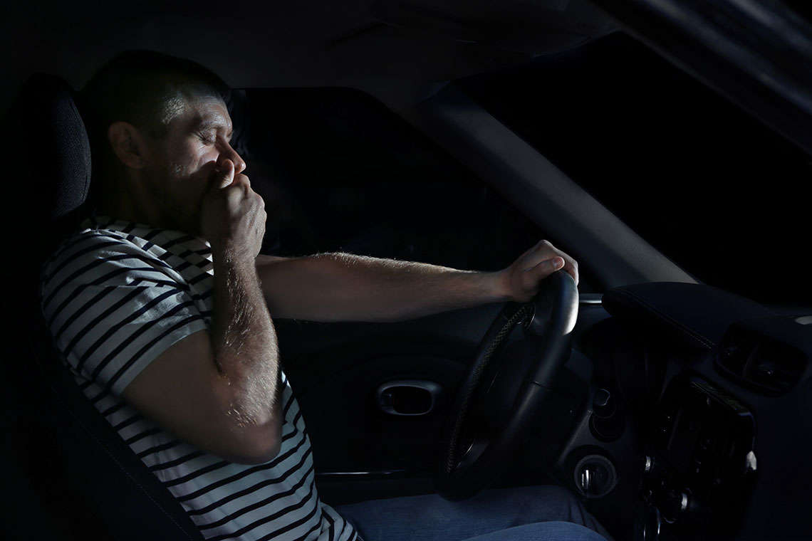 Drowsy Driving on the Rise: Can Tech Keep Drivers Awake? Hero Image