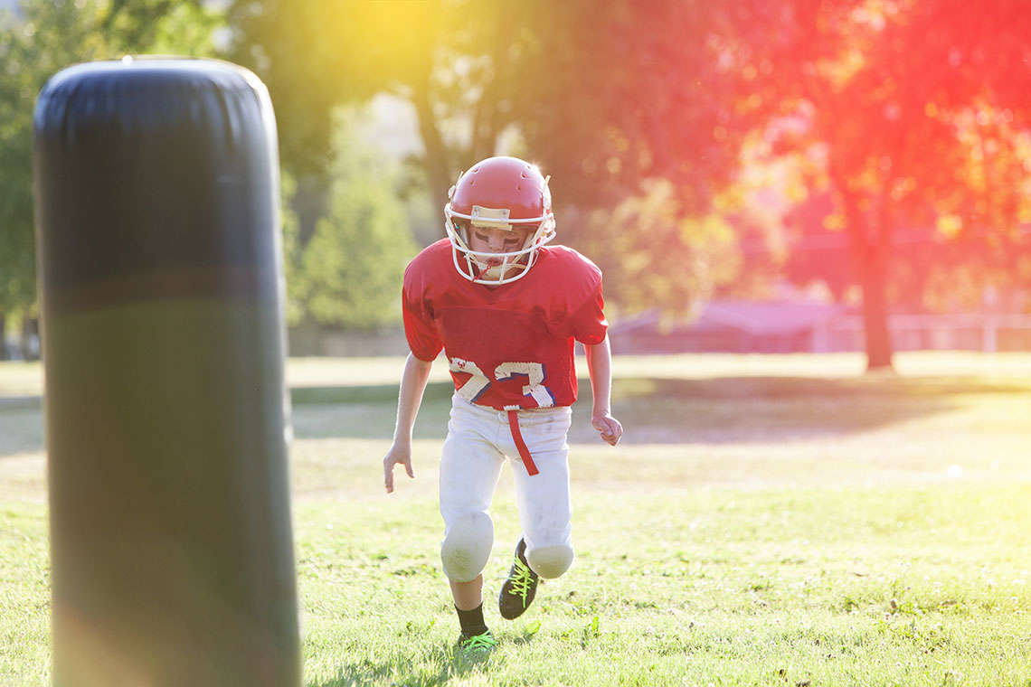 Football Named a Leading Cause of Concussions in Young Athletes Hero Image