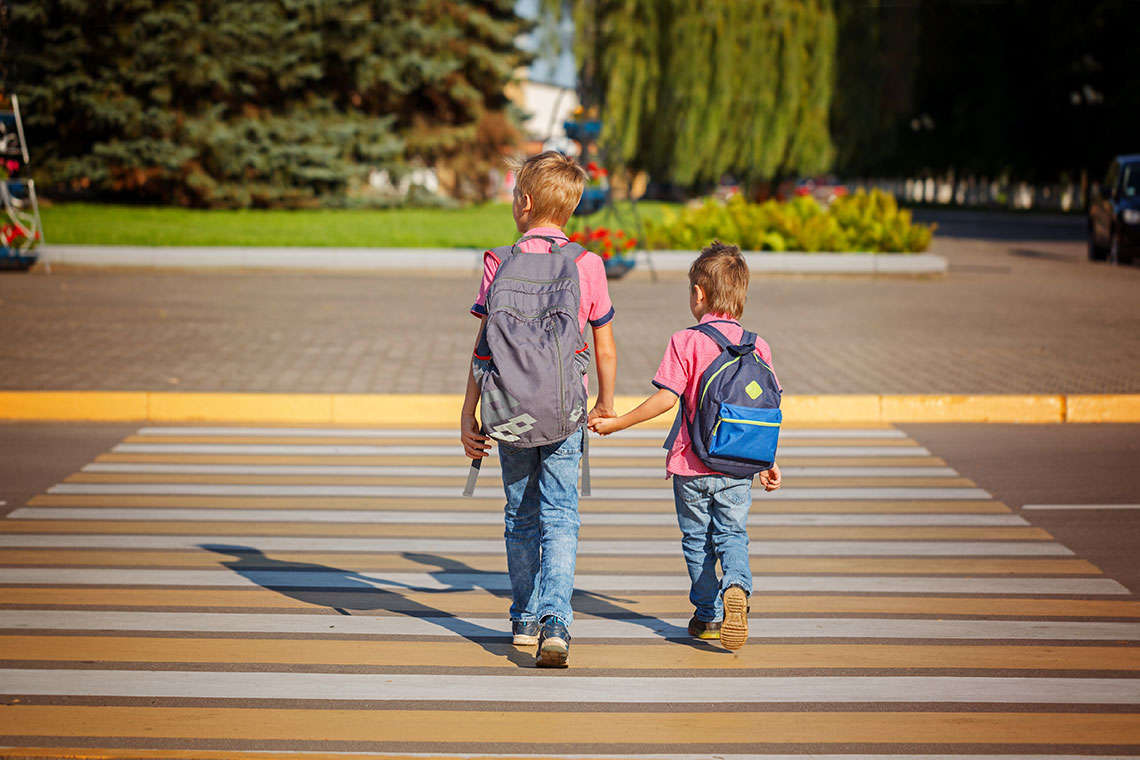 Crosswalks and Other Safety Measures for Keeping Lexington Kids Safe on the Way to School Hero Image