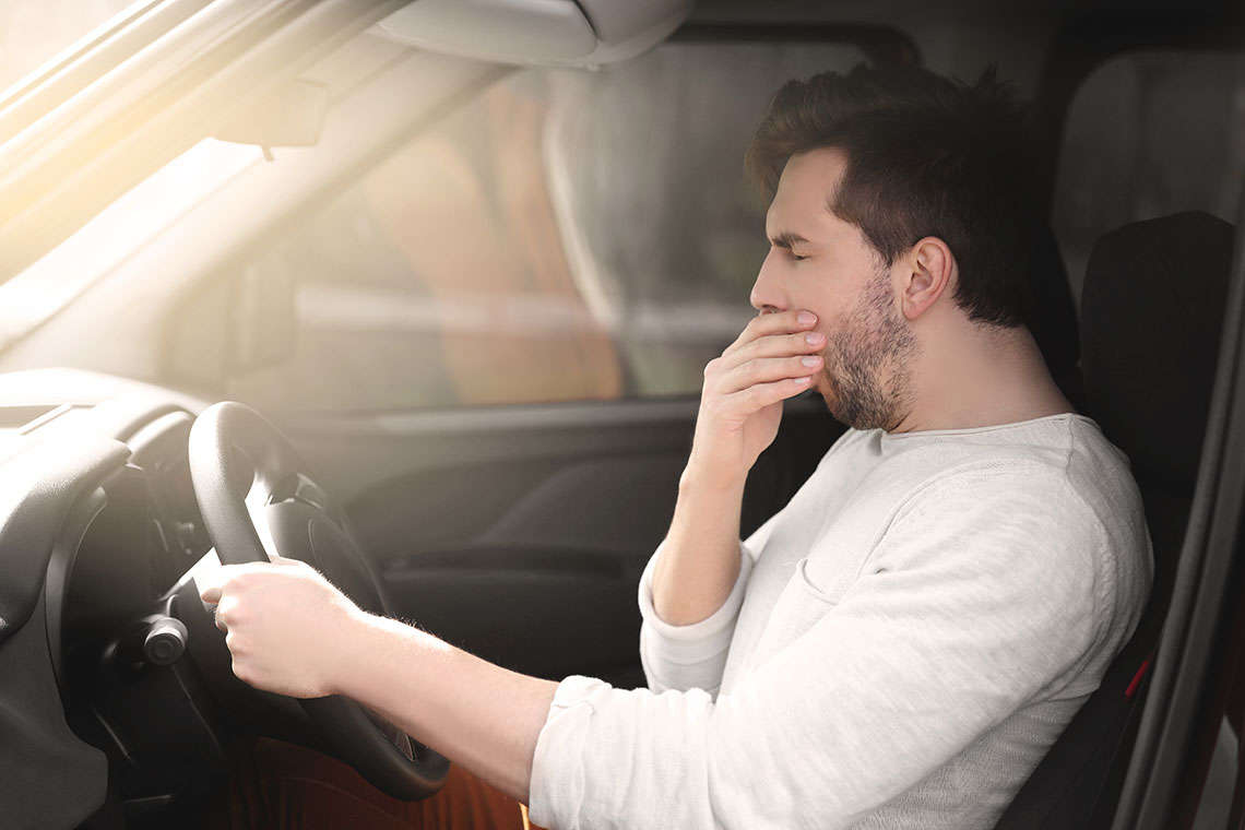 Falling Asleep At the Wheel: How to Prevent Drowsy Driving Accidents in Paducah Hero Image