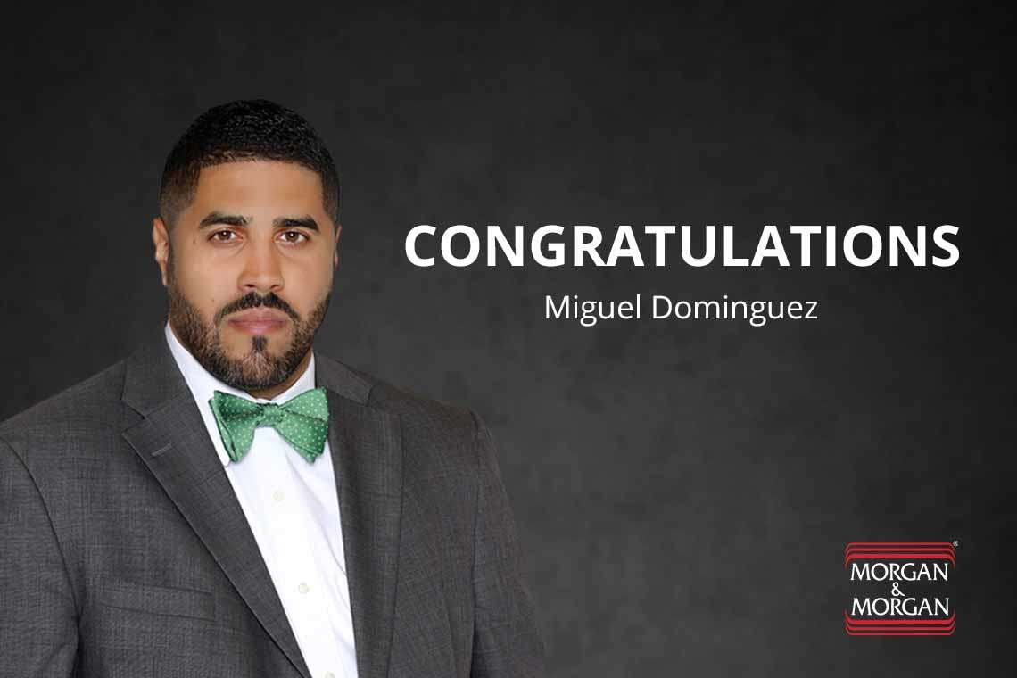 Our Very Own Miguel Dominguez Chosen As 2017 Recipient of 40 Under 40 NBA Award Hero Image