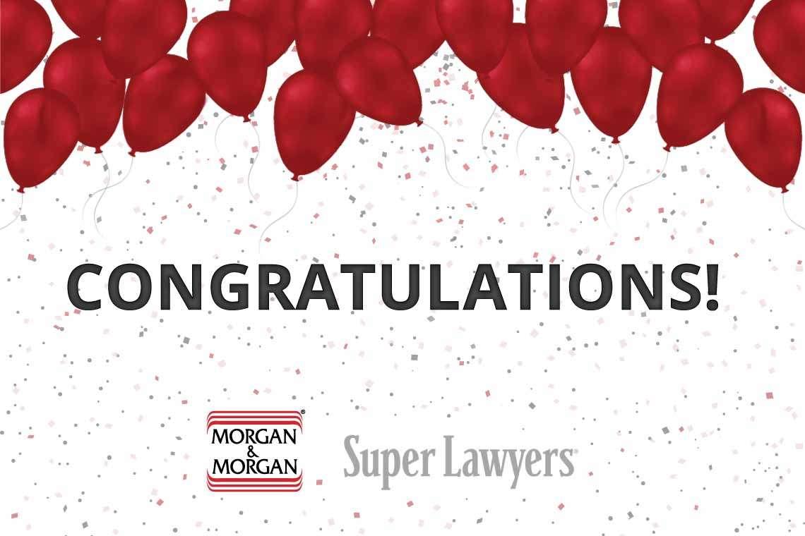 41 Morgan & Morgan Attorneys Featured on 2017 Florida Super Lawyers List Hero Image