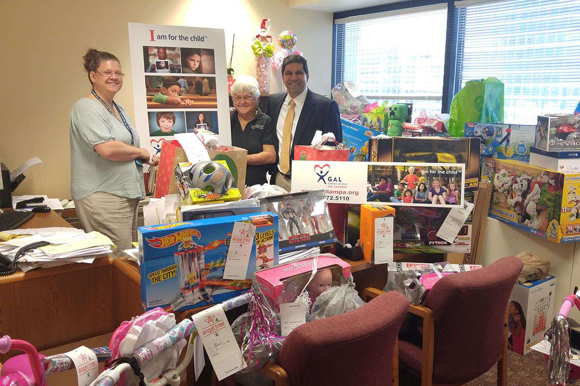Morgan & Morgan Donates Toys for GAL Angel Tree Holiday Event, Raises $2,300 Hero Image