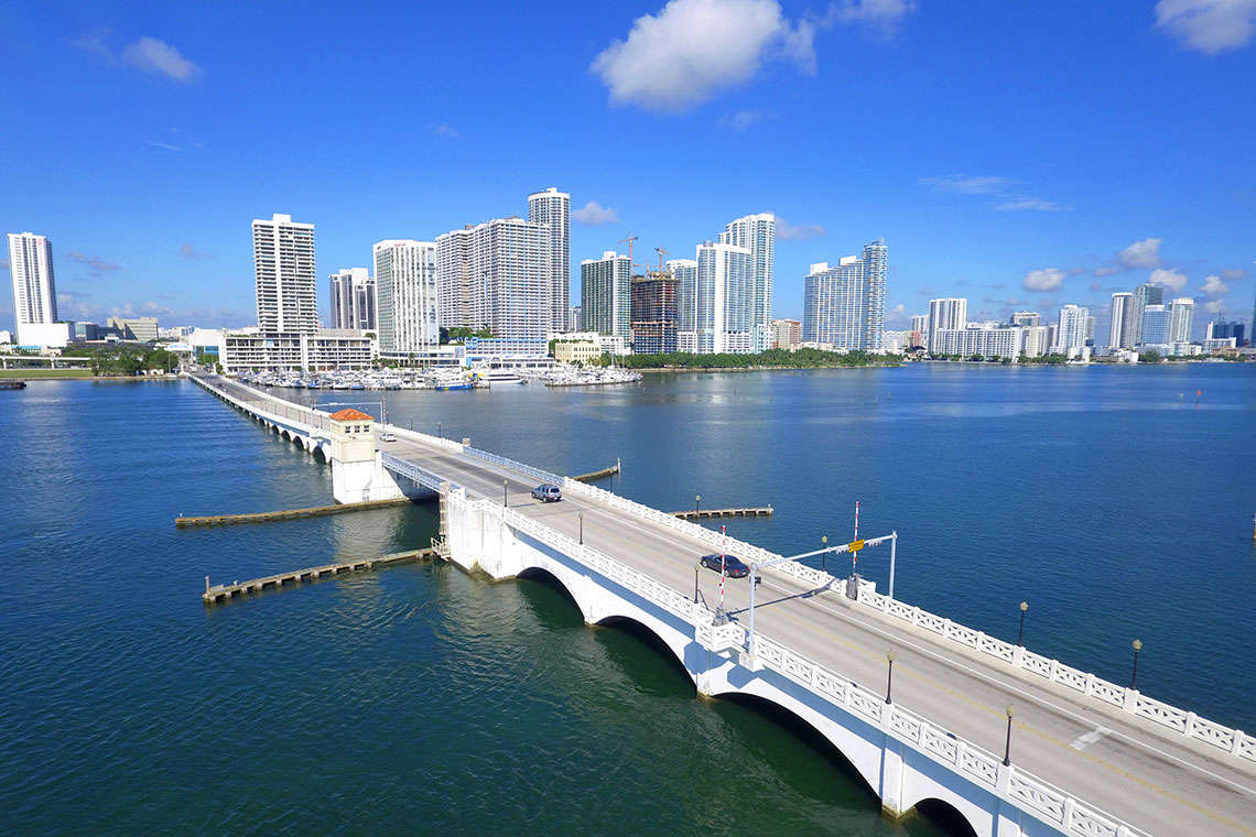 Venetian Causeway Closed Again in December, Worrying Miami Bicyclists Hero Image
