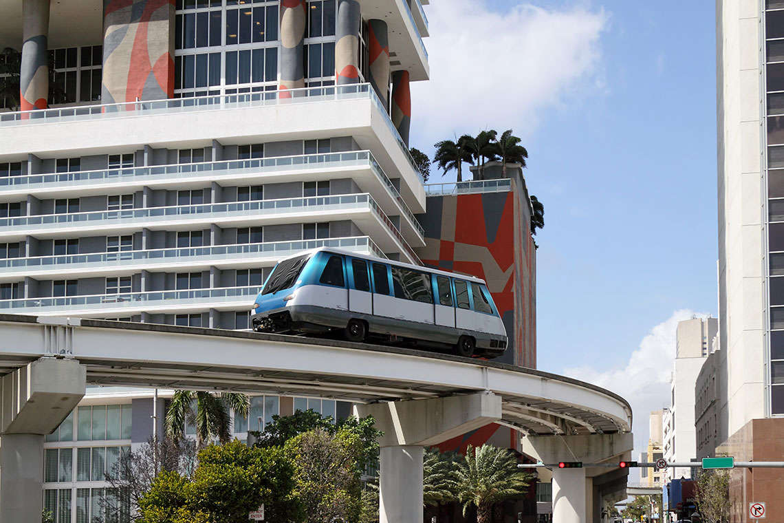 Miami Metromover Kills Construction Worker in Crash Hero Image