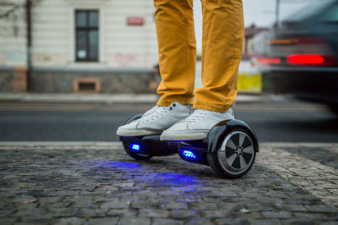 First Hoverboard Fatality Claims Penn. Child Hero Image
