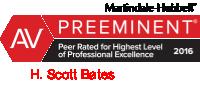 Scott Bates 2016 AV Rating