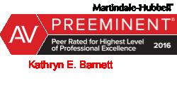 Kathryn E. Barnett AV Rated