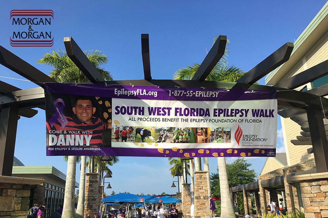 M&M Among Sponsors for Walk the Talk for Epilepsy in Naples Hero Image