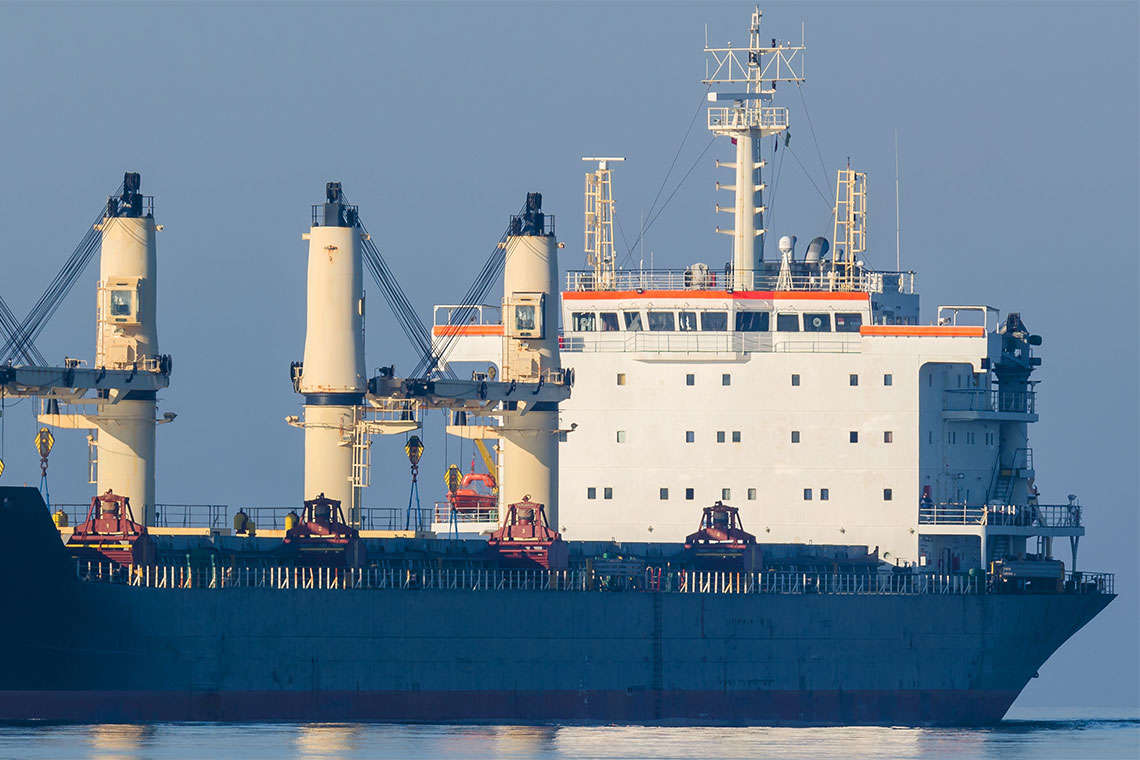 Two Dead After Cargo Ship Explosion in Atlantic Ocean Hero Image