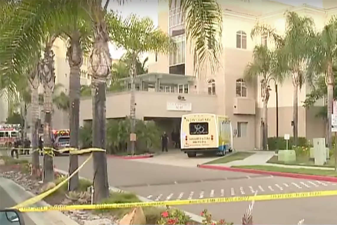 One Dead and Seven Injured in San Diego Apartment Shooting Hero Image