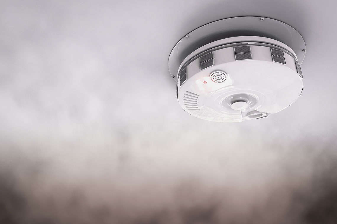 Smoke Detectors Aren't Just an Annoying, Beeping Device Hero Image
