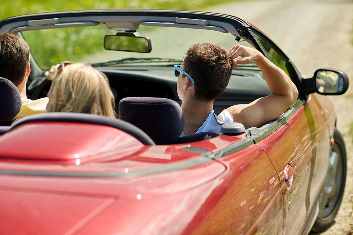 All Day in Summer Sun Is No Fun for Teen Drivers (Yes, Really) Hero Image