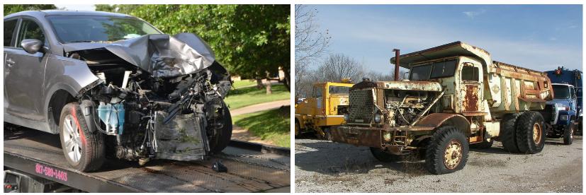 Car-Truck Crash