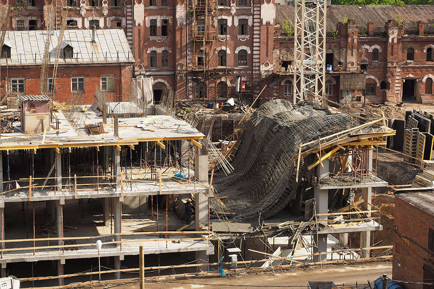 New Orleans Hard Rock Cafe Construction Collapse Morgan